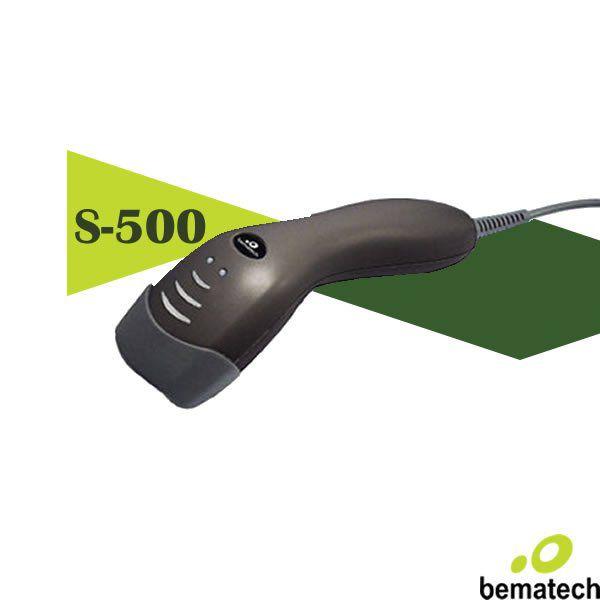 Ccd Leitor Codigo De Barras Bematech Laser Bcr Aquila-S500 Usb/Preto