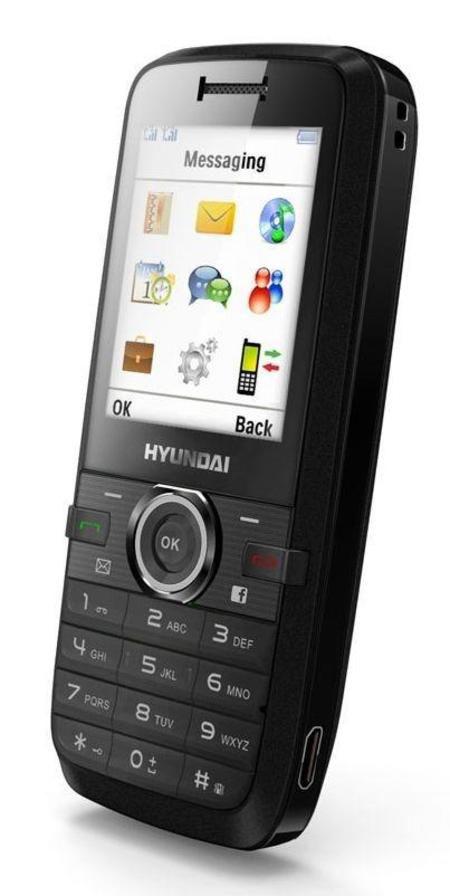 Celular Hyundai H-100 4bandas / 2 Chips / Mp3