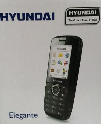 Celular Hyundai H-100 4bandas / 2 Chips / Mp3