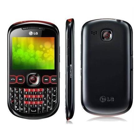 Celular Lg C-310 4bd 2chip Preto