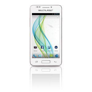 Celular Multilaser Titanium 2 Chips Android/Wifi/Cam5.0/Touch Branc P3206