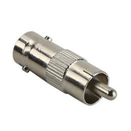 Cftv Adaptador Plug Rca/Jack Bnc - 10 Pecas