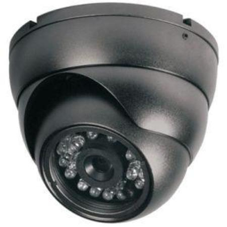 Cftv Camera Infra 1/3 420tvl 15m 3.6mm Gs2015s Dome Preto Sony