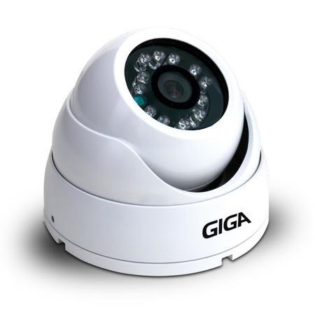 Cftv Camera Infra 1/4 10m 2.8mm Gs2010db Dome Branco