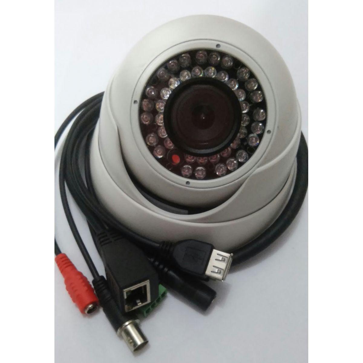 Cftv Camera Infra Ip 5mp-Le Nte Fixa 3.6 Dome Gsip5000d