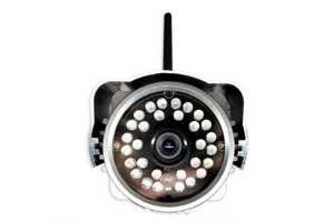 Cftv Camera Ip Feasso Wireless Internet F-Ipcam03 Preta (Externa)