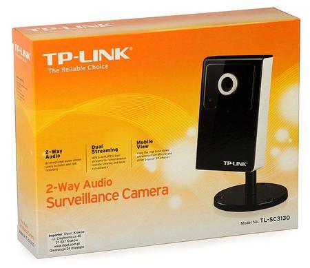 Cftv Camera Ip Tp-Link Tl-Sc3130 1p Lan Audio 640x480 Jpeg E Mpeg-4
