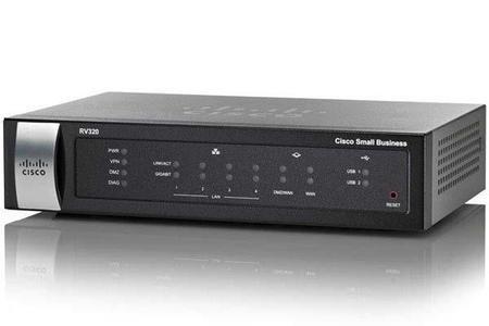 Cisco Router Rv320-K9-Na Vpn 4P Gigabit
