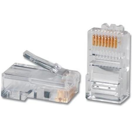 Conector Rj-45 Cat.5 Emb. (Dividida) C/ 100un Ref. Mump0070