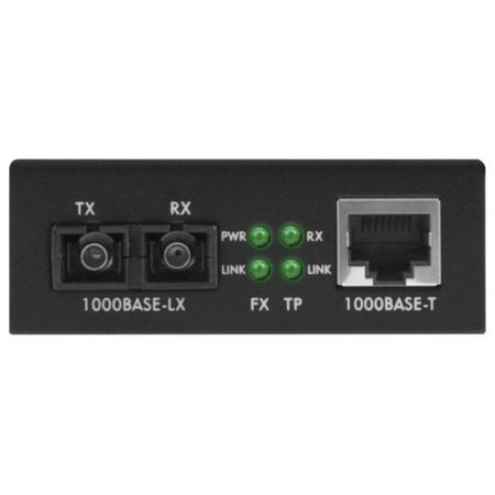 Conversor De Midia Gigabit Ethernet Monomodo 15 Km Kgs1115