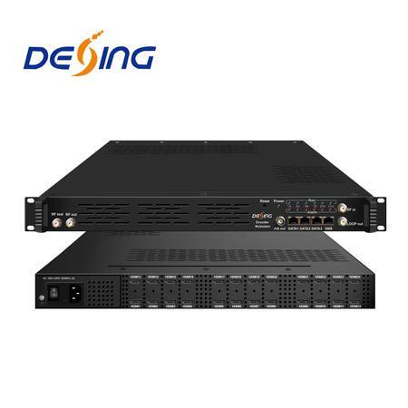 Dexin NDS3544I 24 HDMI input h.264 Encoder Modulator