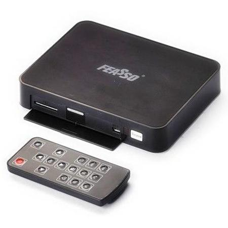 Digital Midia Player Tv Box Android 2.3 Feasso Fa.Mini Tv *Box*- 512mb/1.2ghz/1080p