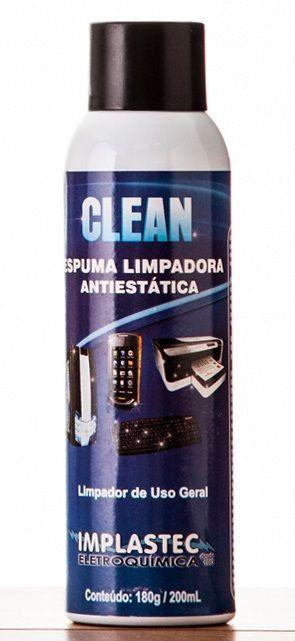 Espuma Limpadora Antiestatica P/ Uso Geral 180g Clean