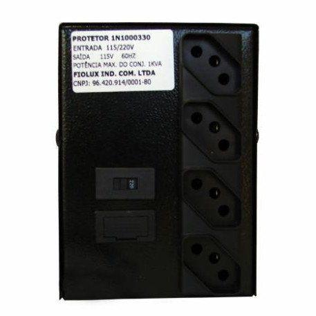 Estabilizador Fiolux 1000va In1000330pr (Protetor)