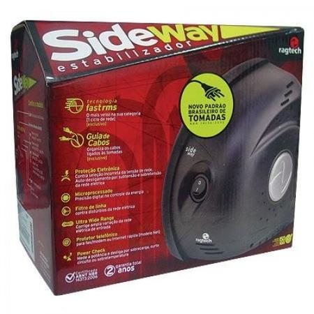 Estabilizador Ragtech 300va Side Way Ti Bivolt (20sdw5303)