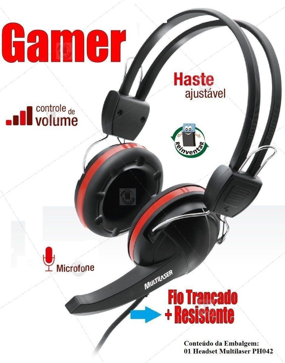 Fone C/ Microfone Premium Gamer P2 Ph042