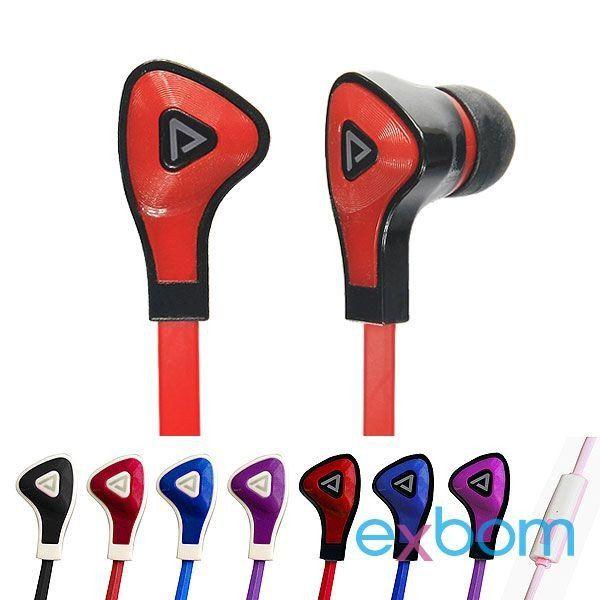 Fone De Ouvido Auricular Com Microfone Ef-400mv ()