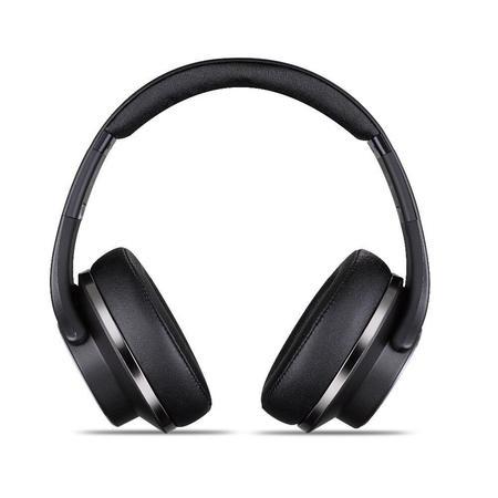 Fone de Ouvido/Cx de Som Bluetooth MH5 Aux/MicroSD/FM/NFC/Mic Preto