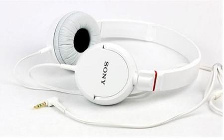 Fone De Ouvido Headphone Mdr-Zx100/Wq - Branco - Sony Sony