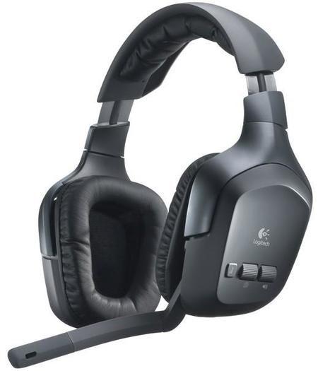 Fone De Ouvido Logitech F540 Wireless Headset Ref.981-000277