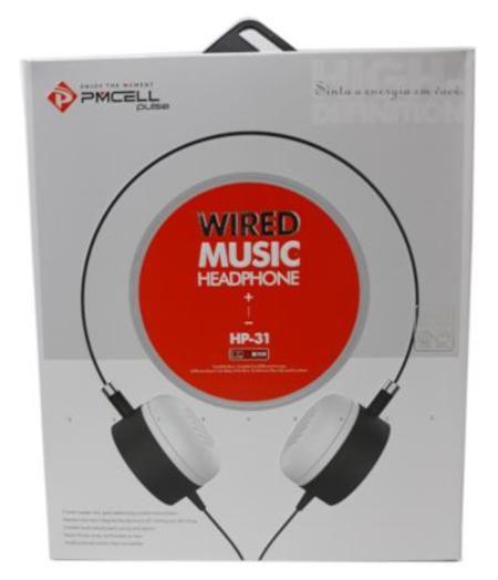 Fone De Ouvido Wired Music HP-31