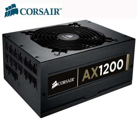 Fonte Atx 1200w Real Corsair Professional Gold Ax Series 80plus Full Modular Cabling 1200ax (Cmpsu-1200ax)