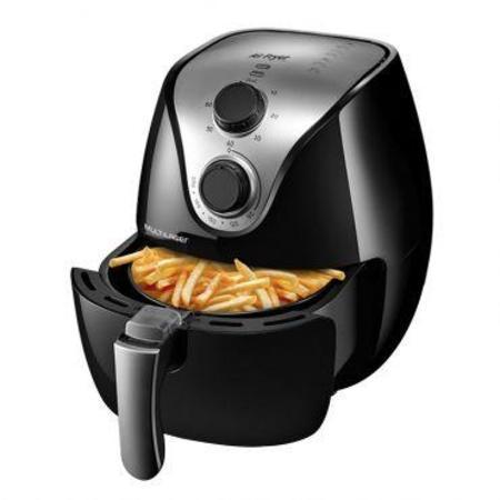 Fritadeira Elétrica Air Fry Gourmet 4L S/Óleo CE022