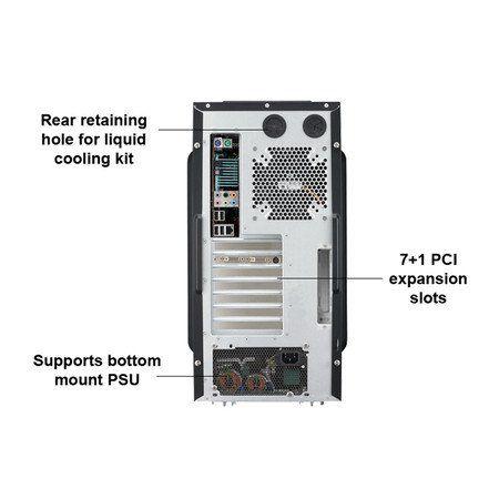 Gabinete Cooler Master Haf 922 Rc-922m-Kkn3-Gp Cooler Master