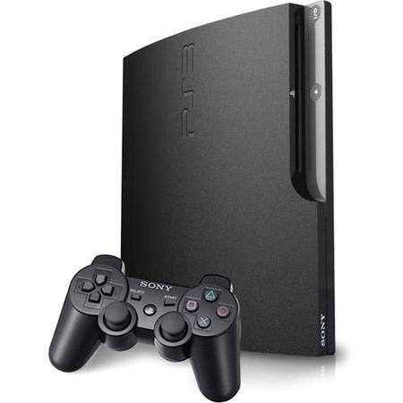 Game Playstation 3 250gb 4001b Super Slim Unchartd Iii C/ Controle 110v