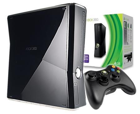 Game Xbox 360 Slim 4gb Arcade C/ Jogo S/ Controle