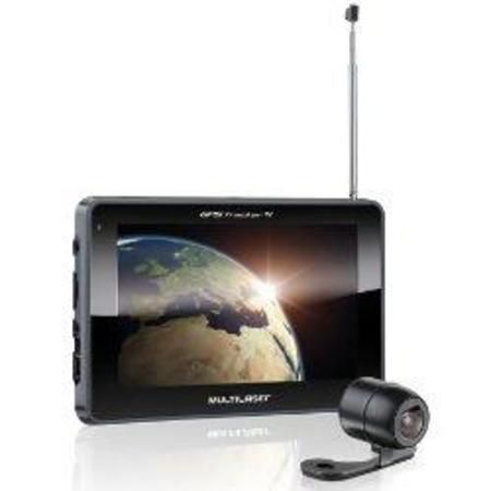 Gps Multilaser Gp017 7.0 C/Av In/Tv Digital/Fm/Cam Re