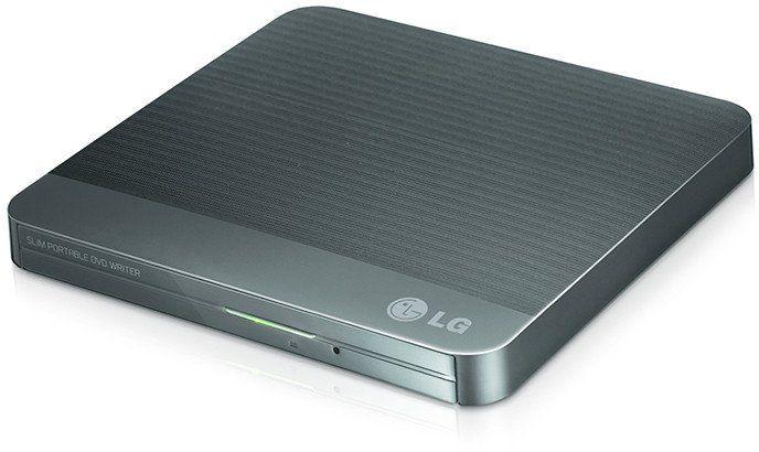 Gravador Externo Dvd+Rw Usb Lg Gp50nb40 8x Preto