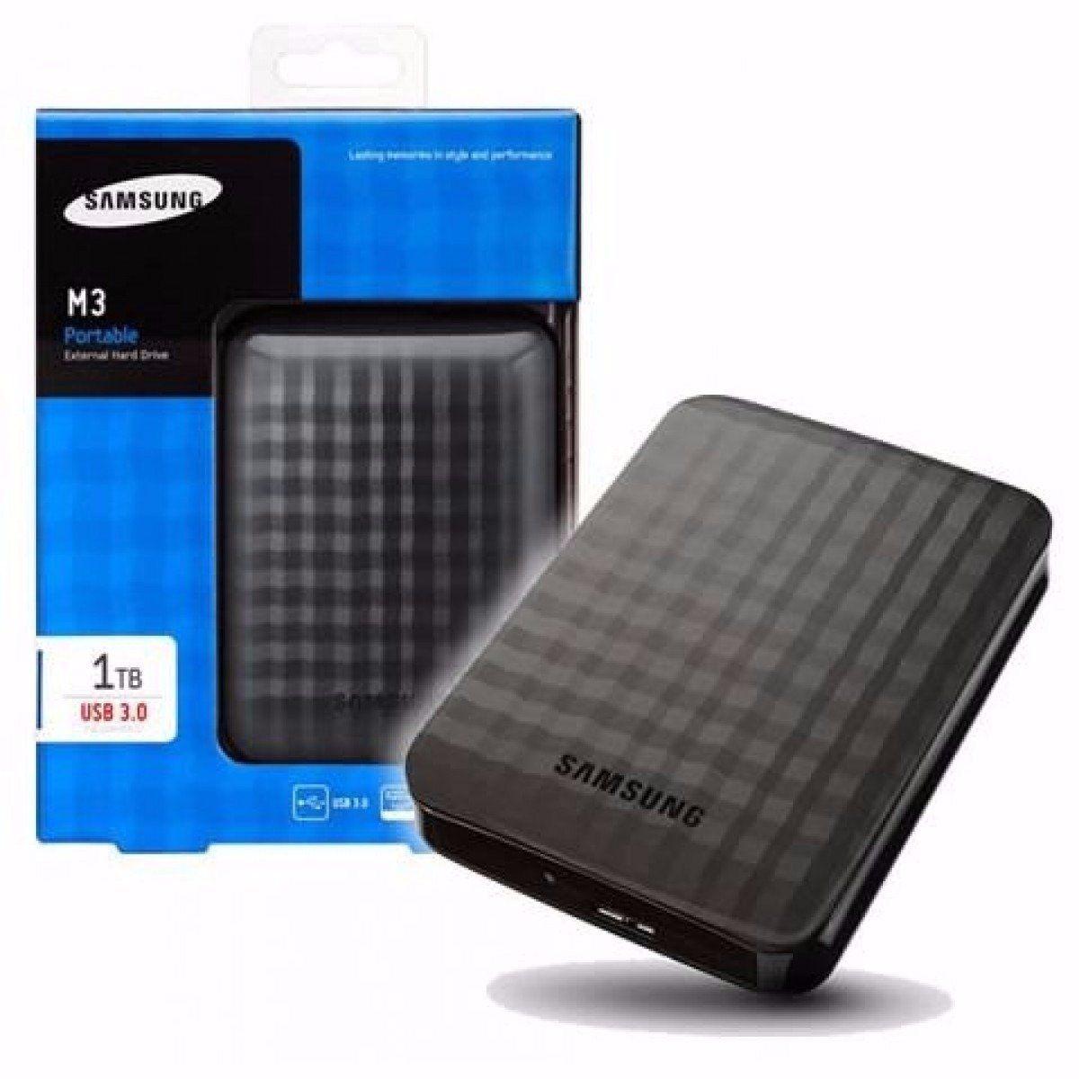 Hd Externo Usb 2.5'' 1tb Samsung Preto