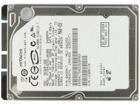 Hd Notebook Sata 320g Hitachi 5400rpm