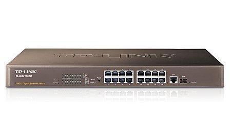 Hub 16p. 10/100/1000 Tp-Link Tl-Sl2218web 16p 1p Wan 1000 1p Sfp Slot Exp Minigbic
