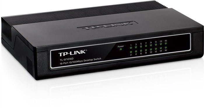 Hub 16p. Tp-Link 10/100 Tl-Sf1016d Switch