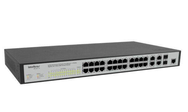 Hub 24 Fast 4p Giga 2p Mini Gbic - Sf2842mr