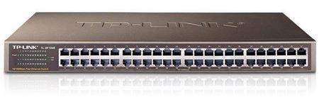 Hub 48p Tl-Sf1048 10/100m Rack-Mountable Switch
