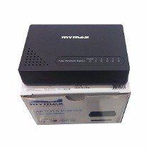 Hub 5p Mymax 10/100 Switch Preto (Mswi/S1005d)