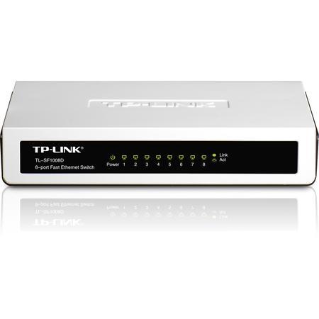 Hub 8p. Tp-Link 10/100 Tl-Sf1008d Switch