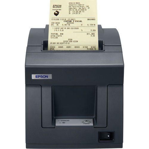 Impressora Epson Tm-T81f (Termica Fiscal Ser/Usb - Vale Lacre)