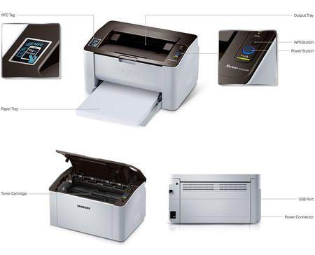 Impressora Laser Mono Sl- M2020w Samsung