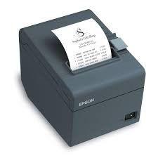Impressora Term. Epson Tm-T20 Usb Preto (N Fiscal)