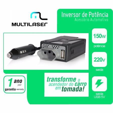 Inversor De Potencia 150w - 220v Au901