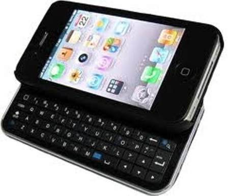 Iphone 4/4s Teclado Bluetooth Preto