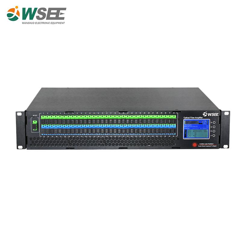 IPTV EDFA 32 CANAIS 23DBM SEM WDM 220V SC/APC-SC/APC