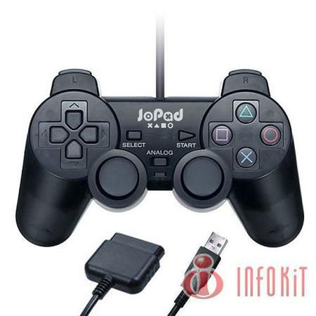 Joystick Playstation 1/2 Dual Analogico