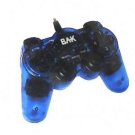 Joystick Usb Bak Bk-Js756 Azul/Preta