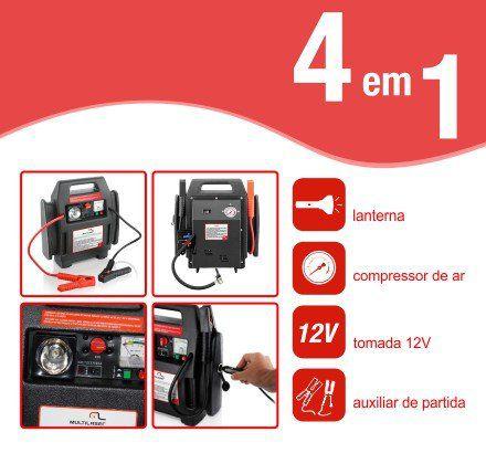 Kit De Emergencia 4 Em 1 Au602