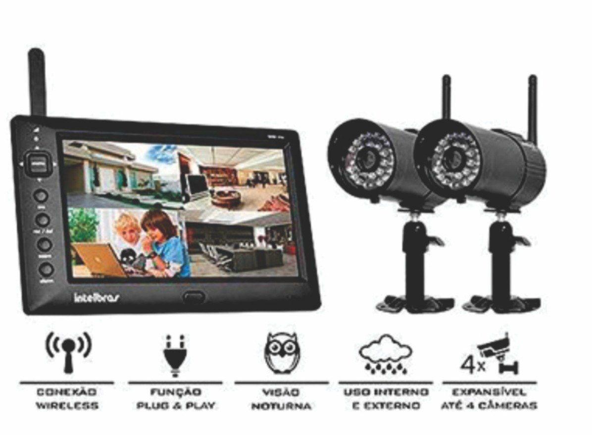 Kit De Monitoramento Sem Fio Ehm-606